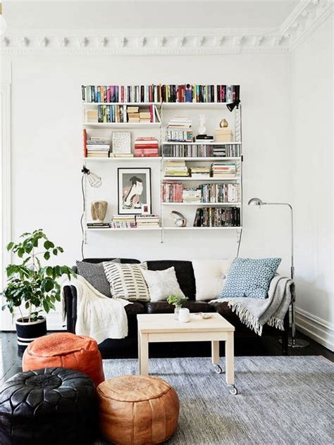 floating shelves behind couch 20 great ways to make use of the space behind couch for