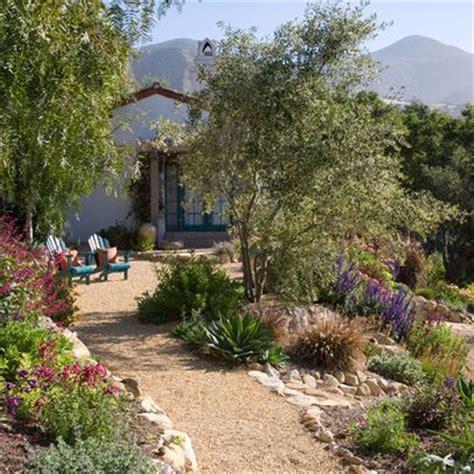 mediterranean landscaping casual casa gravel for garden paths