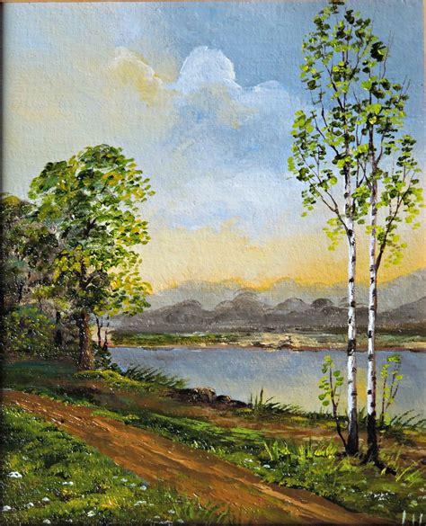 silver birch tree landscape naturelands