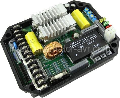 Avr Dsr For Meccaltte Replacement mecc alte uvr6 avr original replacement for brushless generator alternator avr