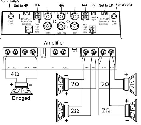 wiring diagram 4 channel wiring diagram 4 channel