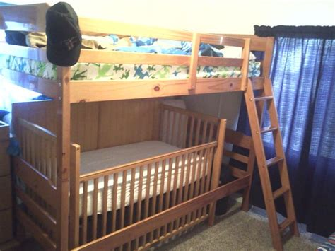 Crib Loft Bed 17 Best Ideas About Bunk Bed Crib On Toddler Bunk Beds Small Bunk Beds And Bunk