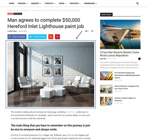 newspaper theme forum newspaper theme how to set a featured image or video