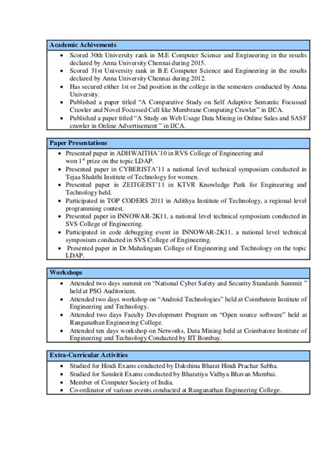 achivements in resume sle resume achievements 28 images