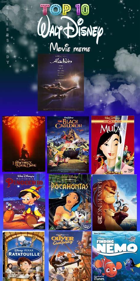 10 film terbaik walt disney top 10 walt disney movies by bluesplendont on deviantart