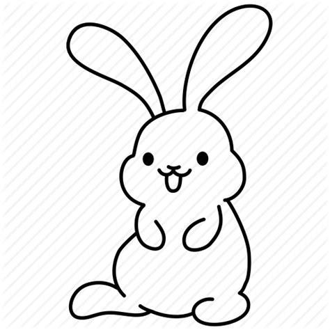 Bunny Ibon Black easter bunny set by iconka