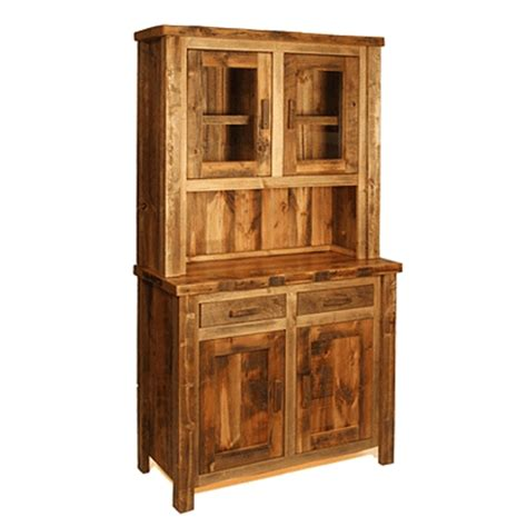 Reclaimed Wood Hutch And Buffet colorado reclaimed wood buffet hutch small