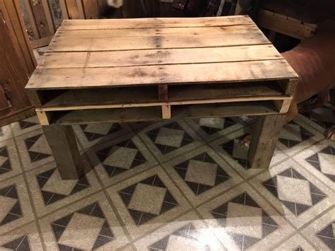 Rustic Pallet Coffee Table Reclaimed And Rustic Pallet Coffee Table 99 Pallets