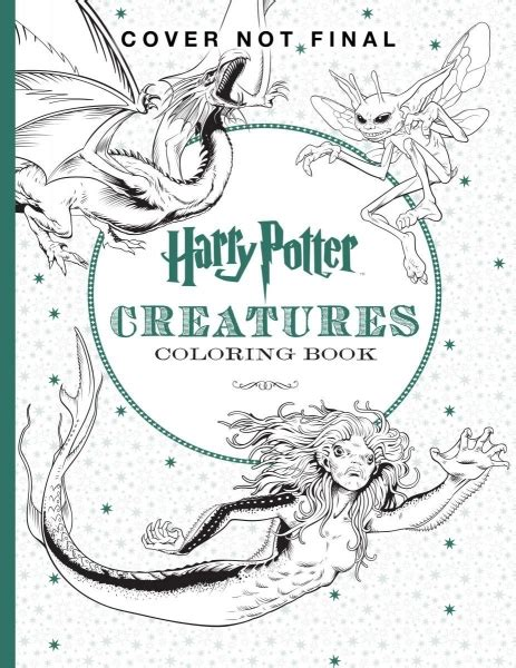harry potter coloring book places and characters photos harry potter creatures artifacts places