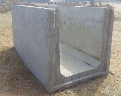Commercial Park Bench by 1meter Culvert Drain Sai Preethi Precast Builder