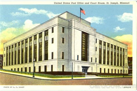 Post Office St Joseph Mo by United States Post Office And Court House St Joseph Mo