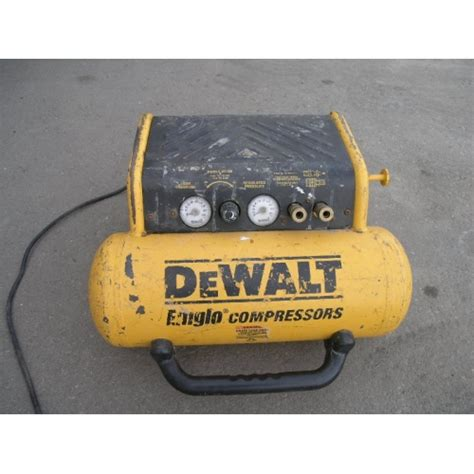 File Cabinet Under Desk Dewalt Emglo Portable Air Compressor 1 2 Hp Allsold Ca