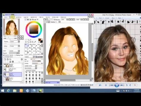 paint tool sai addons sai speed painting brec bassinger