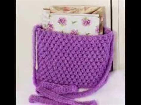 Tas Rajut Handbag 2 Ruang crochet tutorial tas rajut half crochet bac