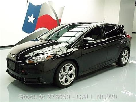 ford focus hatchback turbo purchase used 2013 ford focus st hatchback 6 speed