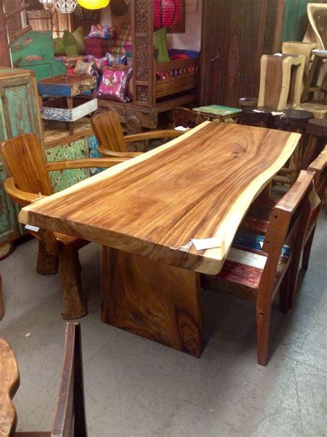 furniture dinner tables edge suar wood dinner table furniture