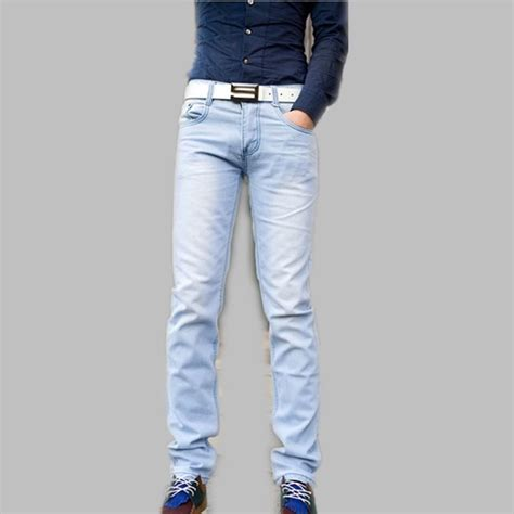 light blue pants mens baby blue mens pants pi pants