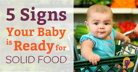 when do babies start table food starting solids 5 signs your baby is ready for solid food