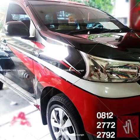 Stiker Anti Lecet Pelindung Mobil Car Bumper Protection Sticker cutting stiker mobil avanza call 081227722792 putih merah keren