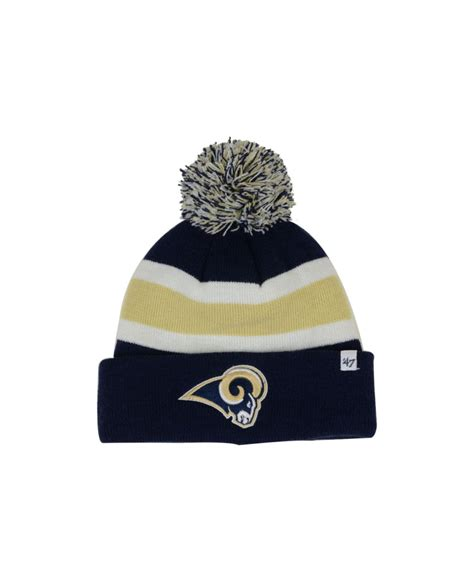 rams knit hat 47 brand st louis rams breakaway knit hat in blue for