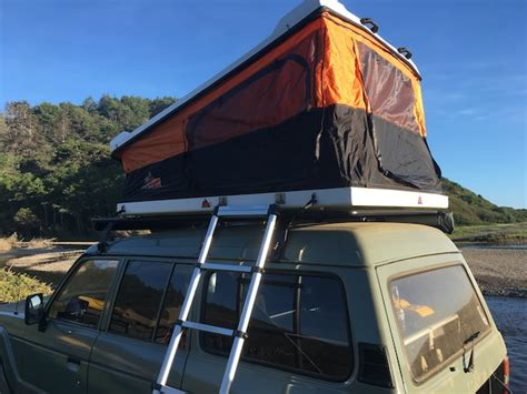 tepui awning spending the night in a tepui roof top tent gear institute