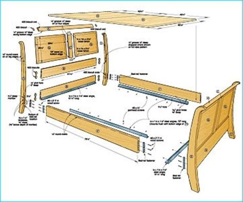 How To Put Together A Bed Frame How To Put Together Bed Frame For Sleigh Bed Homebuilddesigns Pinterest Bed Frames