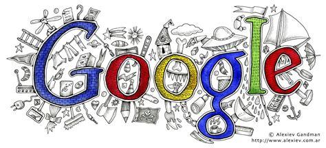 imagenes google grandes ilustrador alexiev gandman logo de google en alta