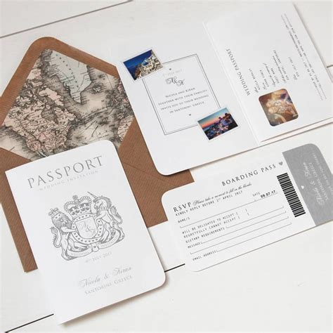 passport wedding invitations template 15 best ideas about passport invitations on