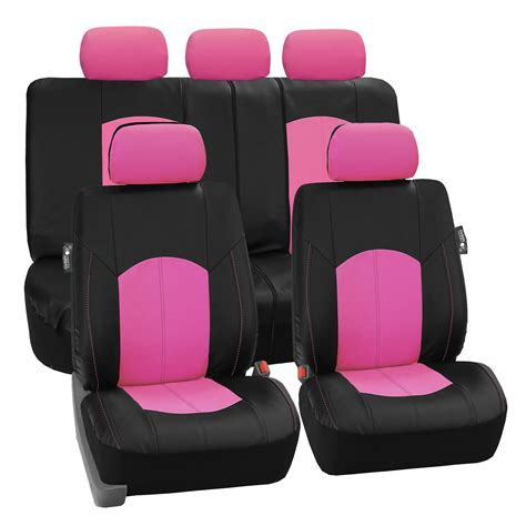 split bench seat covers deluxe perforated leather car seat covers airbag safe