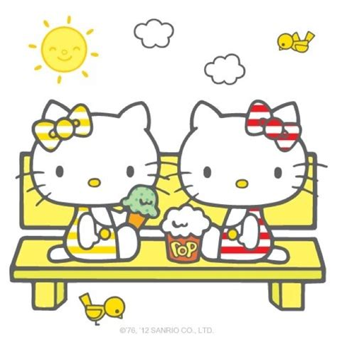 hello kitty summer hello kitty summers seasonal hello kitty pinterest