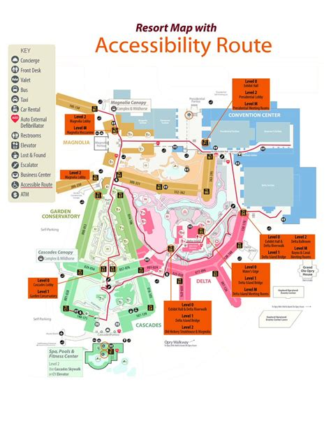 opryland hotel layout map nashville convention center map pictures to pin on