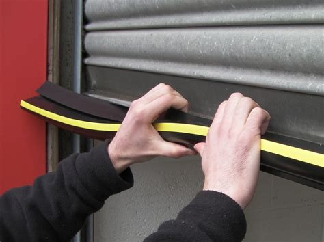 seal around garage door wrap around roller shutter door seal weather stop
