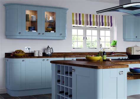 Blue Kitchens by Blue Kitchen Ideas Terrys Fabrics S