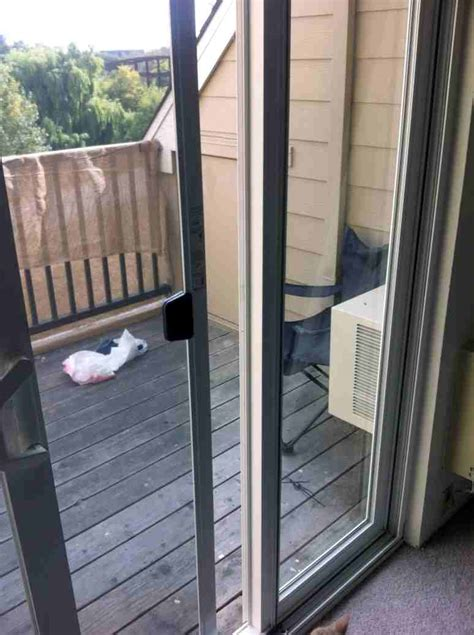 How To Remove Sliding Patio Door Panel Windows How Can I Remove The Side Glass Pane From A Patio Sliding Glass Door Home