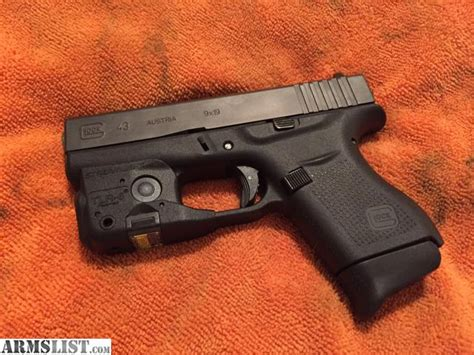 best laser light combo for glock 19 armslist for sale trade glock 43 with tlr6 laser light