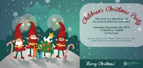children s christmas party