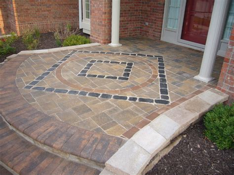 Patio Pavers Omaha Paver Patios Traditional Patio Omaha By Clear