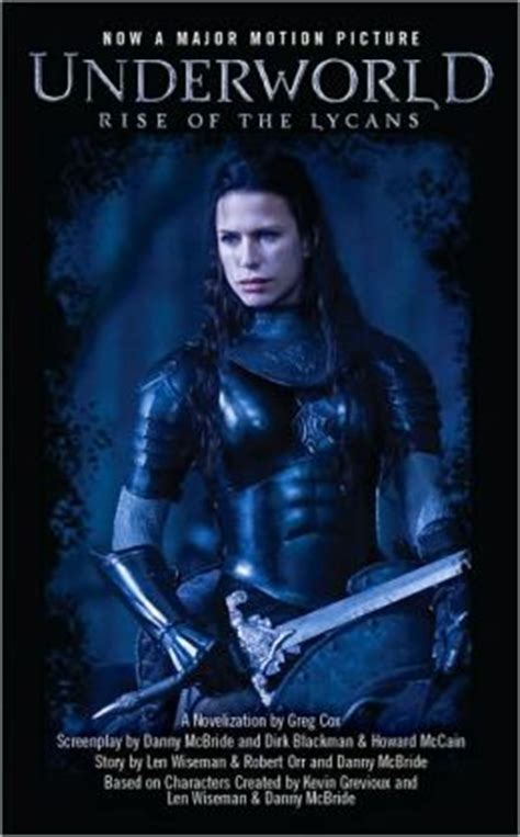film underworld ordre underworld rise of the lycans by greg cox 9781439112847