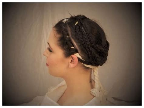 how to do roman hairstyles re creating the hairstyle of the ancient roman vestal