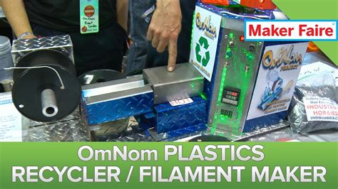 House Maker 3d omnom recycles 3d printer mistakes into fresh plastic