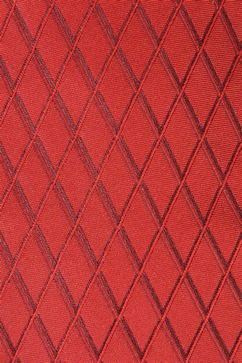 geometric pattern red armani collezioni silk tie with geometric pattern in red