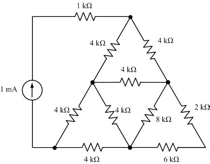 resistors triangle circuits cleo circuits learned by exle