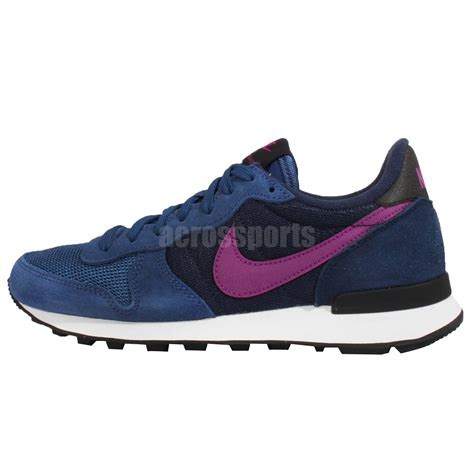 blue nike womens running shoes wmns nike internationalist blue purple navy womens running