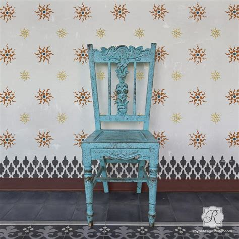 classic european wallpaper traditional european stars wall stencils for painting