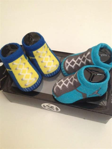 Nike Air Jordan Newborn Baby Boy Girl Infant Socks Booties Baby Crib Shoes Jordans