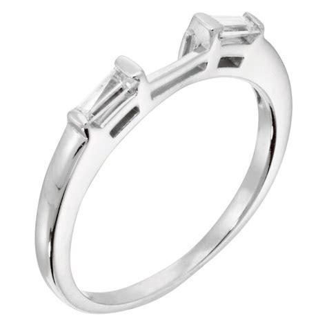 wrap around engagement ring wedding band engagement ring usa