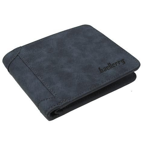 Baellerry Dompet Kulit Pria Bahan Nubuck baellerry dompet kulit pria bahan nubuck model horizontal gray jakartanotebook