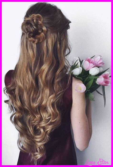 Prom Curly Hairstyles by Curly Prom Hairstyles Livesstar