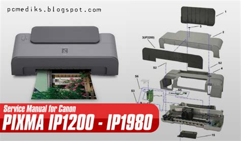 reset error ip1300 manual service printer canon teknik service