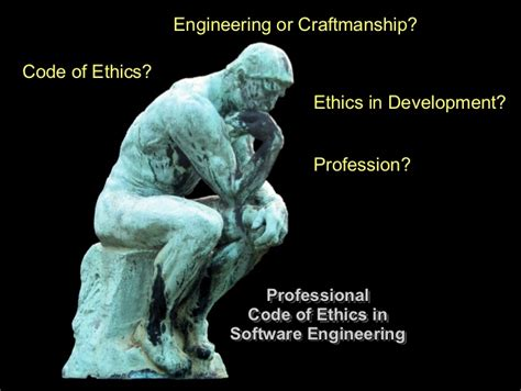 professional code  ethics  software engineering
